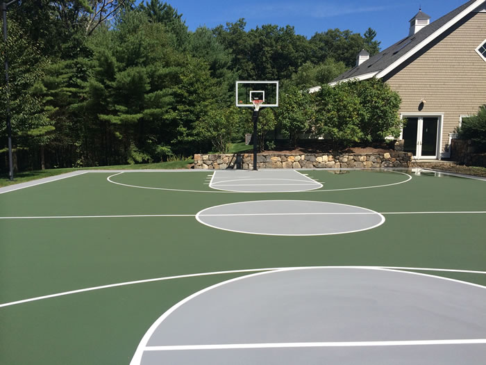 basketball court surfacing